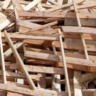 Destinação de resíduos de madeiras